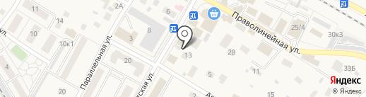 Магазин овощей и фруктов на карте Быково