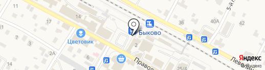 Банкомат, Банк ВТБ 24, ПАО на карте Быково