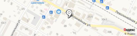 Магазин бытовой химии и косметики на карте Быково