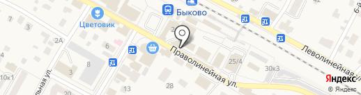 Магазин бытовой химии на карте Быково