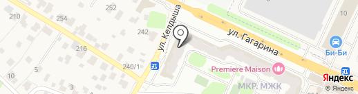 Эврика на карте Жуковского