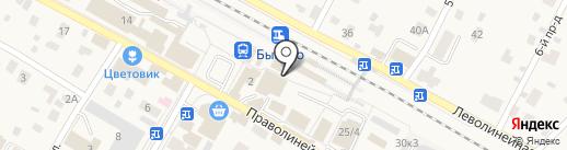 Магазин обуви на Пристанционной площади на карте Быково