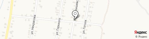 Продовольственный магазин на карте Моспино