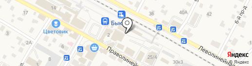Магнит-Косметик на карте Быково