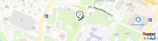 ЖЭУ №8 на карте Жуковского