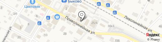 Магазин хозяйственных товаров на карте Быково
