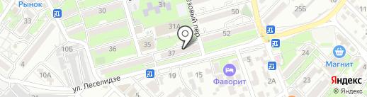 Магазин на карте Геленджика