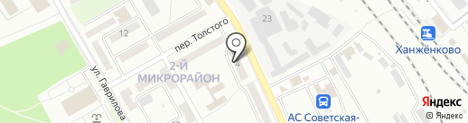Бис на карте Макеевки