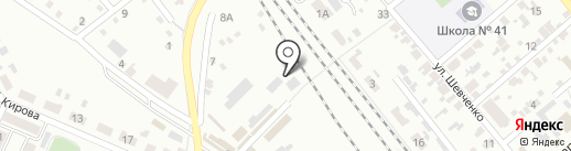 Десна на карте Макеевки