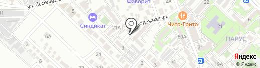 Управление образования на карте Геленджика