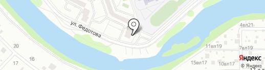 Союз-4, ЖСК на карте Жуковского