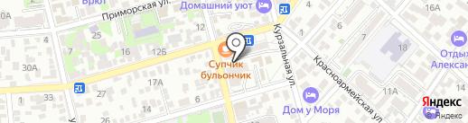 Kumar Bar на карте Геленджика