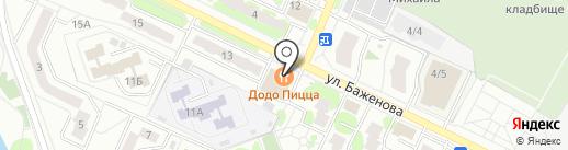 Точка Любви на карте Жуковского