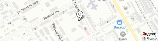 Иона на карте Макеевки