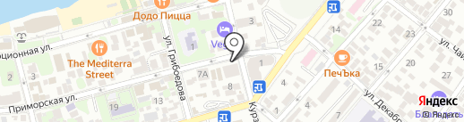 МСК-Мед на карте Геленджика