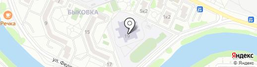 Лицей №14 на карте Жуковского
