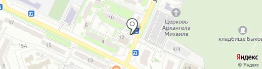 Шотис пури на карте Жуковского
