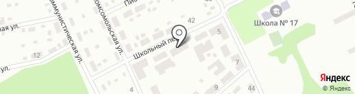 Дежурный, продуктовый магазин на карте Макеевки