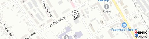 ЮлиАнна на карте Макеевки