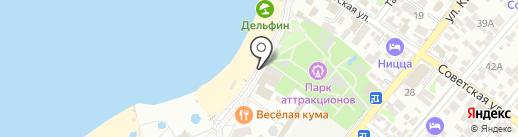 Прохлада на карте Геленджика