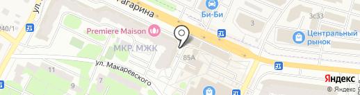 Персона на карте Жуковского