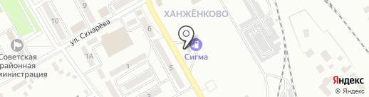 АЗС AutoStop на карте Макеевки