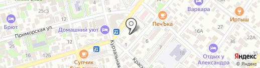 Инадзума на карте Геленджика