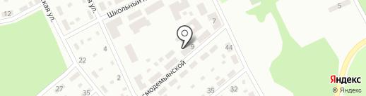Отделение связи №42 на карте Макеевки