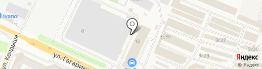 Орбита-4 на карте Жуковского
