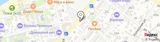 Стоматологическая поликлиника на карте Геленджика