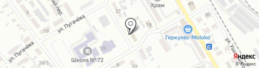 Советский районный отдел Макеевского городского управления ГУМВД Украины в Донецкой области на карте Макеевки