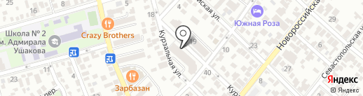 Росбанк, ПАО на карте Геленджика