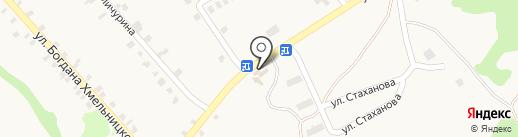 Автокомплекс, ЧП Мазуров С.А. на карте Моспино