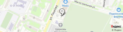 Марго на карте Жуковского