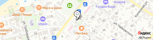Данко на карте Геленджика
