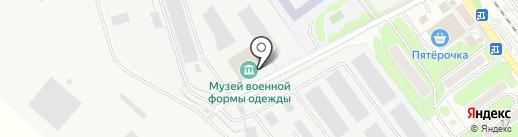 Олви на карте Щёлково