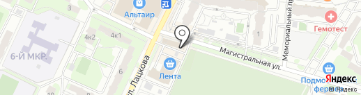 Парфюмерный Эдем на карте Жуковского