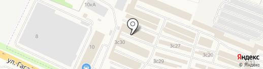 Банный рай на карте Жуковского