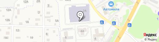 Московский государственный областной университет на карте Фрязино