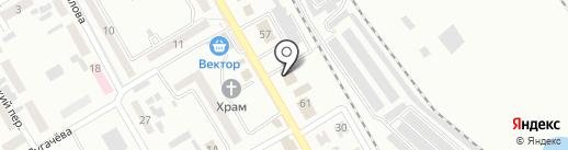 Новострой на карте Макеевки