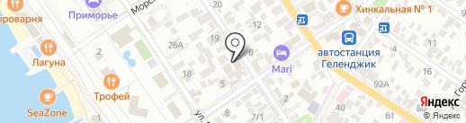 Автошкола на карте Геленджика