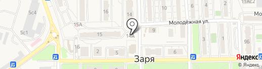 Защита М на карте Балашихи