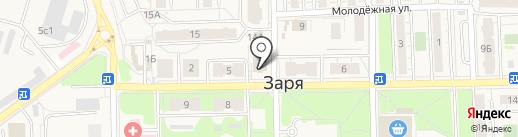 Лиман на карте Балашихи