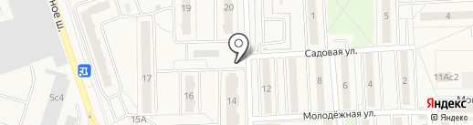 Моська на карте Балашихи