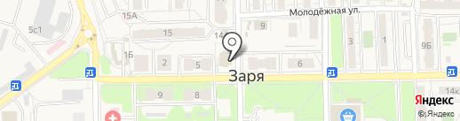 Магазин цветов на карте Балашихи
