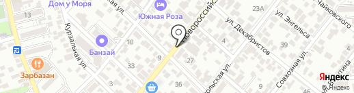 ВостокSCOOTER на карте Геленджика