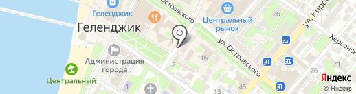 Банкомат, НБ Траст, ПАО на карте Геленджика
