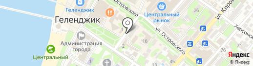 НБ Траст, ПАО на карте Геленджика