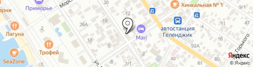Агростроймаш на карте Геленджика