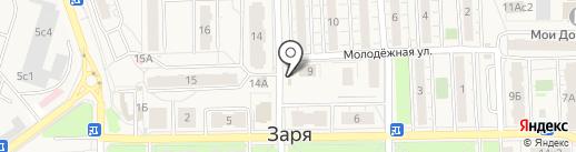 Милава на карте Балашихи